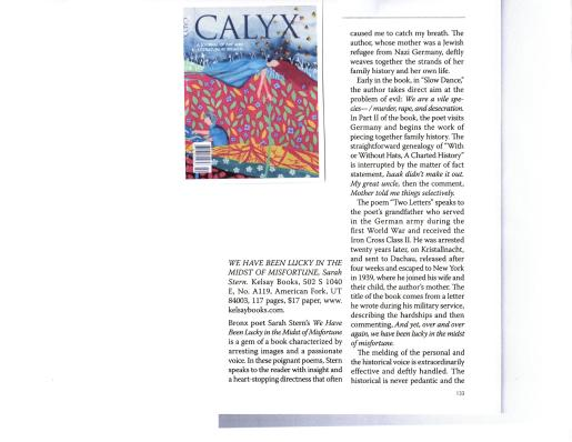 Calyx 1 Review
